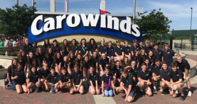 News - PCA Choirs Have A Superior Day At Carowinds!