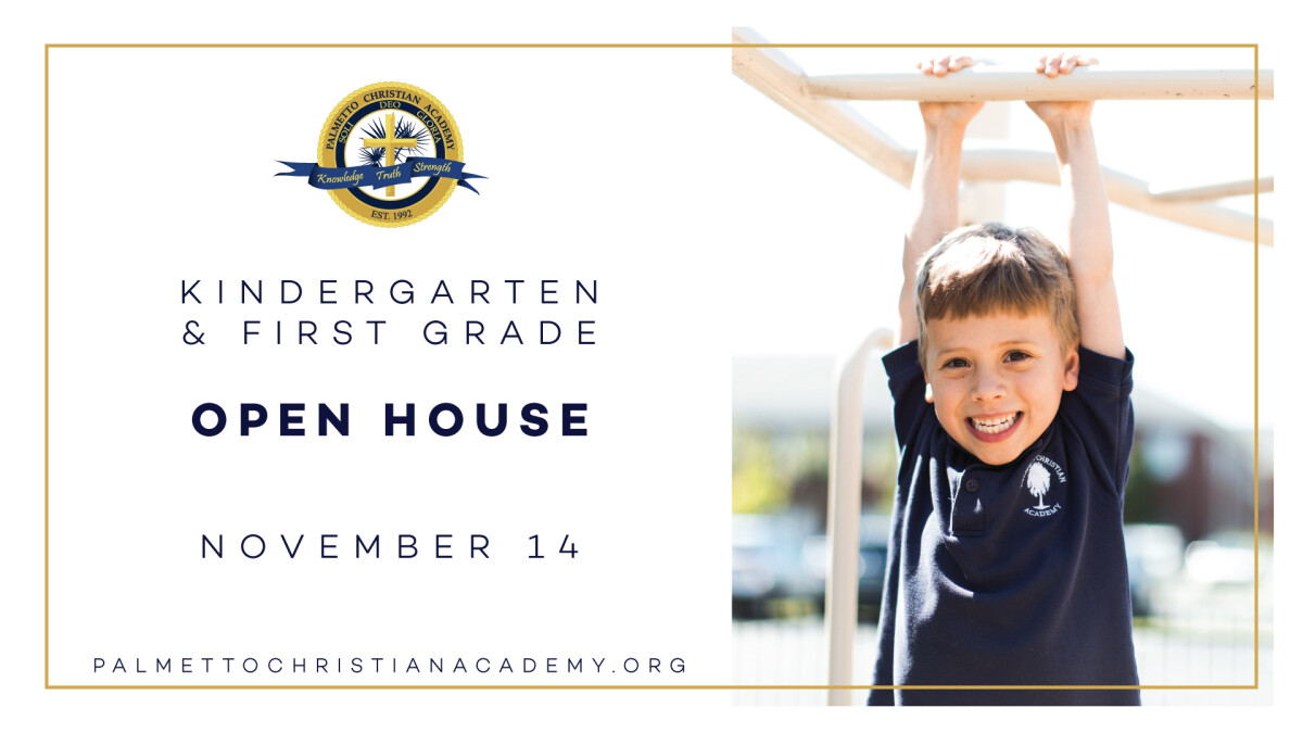 Kindergarten and 1st Grade Open House