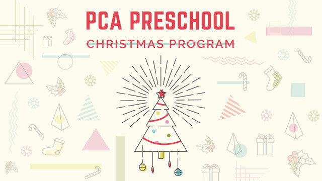 preschool christmas programs palmetto christian academy