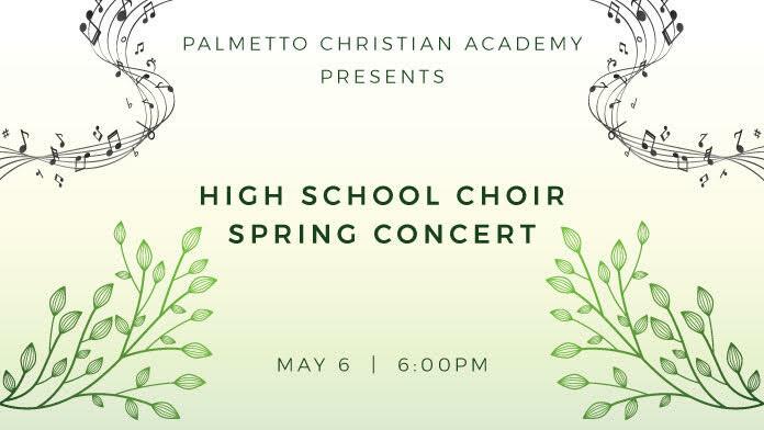 High School Choir Spring Concert